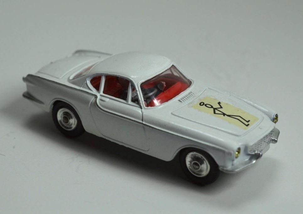 Corgi 258 'The Saint's Volvo P1800' - Diecastinvestor