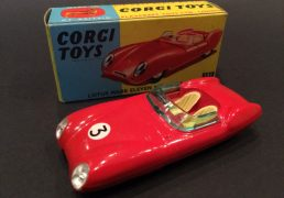 Corgi No.151 Lotus Mk.11 Le Mans Racing Car - Red Body