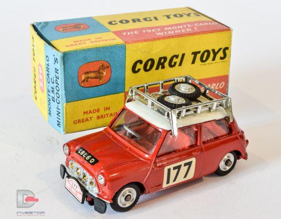 """Corgi No.339 BMC Mini Cooper S """"Rallye Monte Carlo"""""""