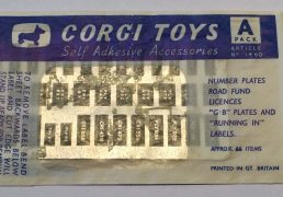 Corgi Accessory Pack A
