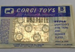 Corgi Accessory Pack B