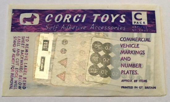 Corgi Accessory Pack C