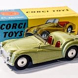 Corgi No.305 Triumph TR3 Sports Car