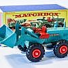 Matchbox K-10 Aveling-Barford Tractor Shovel