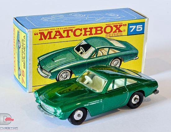 Matchbox Regular Wheels No. 75 Ferrari Berlinetta