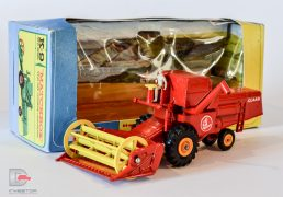 Matchbox Kingsize – K9 CLASS Combine Harvester. This model is in mint condition with no repairs whatsoever and complete with driver. The box is in good to excellent condition.