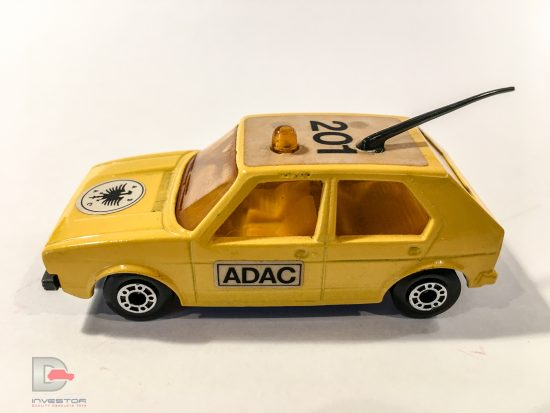 Matchbox Superfast No.7c Volkswagen Golf German export issue