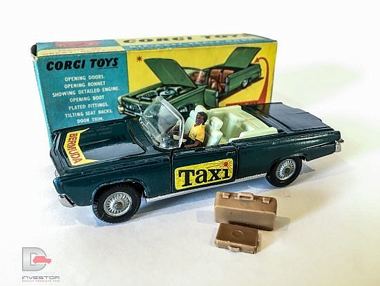 "Corgi No.507 Pre-Production Chrysler Imperial ""Bermuda Taxi"""