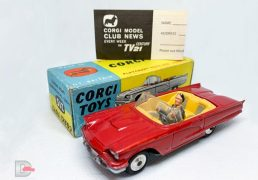 Corgi No.215 S Ford Thunderbird Open Sports Car