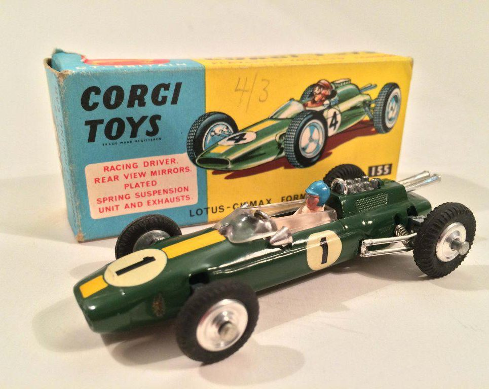 b90faf3c53d5 Corgi No.155 Lotus Climax Formula 1 Racing Car - Diecastinvestor
