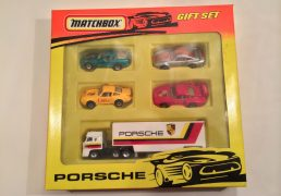 Matchbox Porsche Gift Set