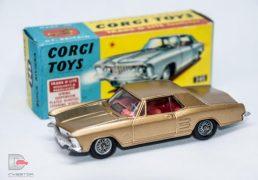 Corgi No.245 Buick Riviera - gold body