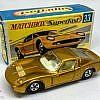 MATCHBOX Superfast 33A Lamborghini Muira Gold / Ivory Int / Thin Wheels / Unpainted Base / Made in England