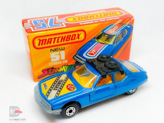 Matchbox Superfast No.51b Citroen SM Twin Pack Issue