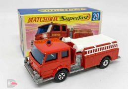 Matchbox Superfast No.29a Fire Pumper Truck