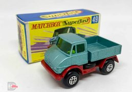 Matchbox Superfast No.49a Mercedes Unimog