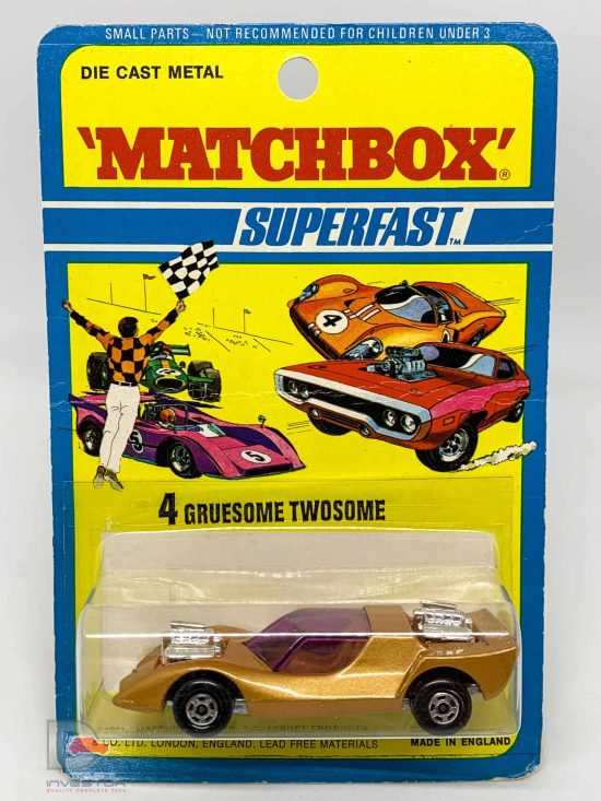 Matchbox Superfast No.4b Gruesome Twosome