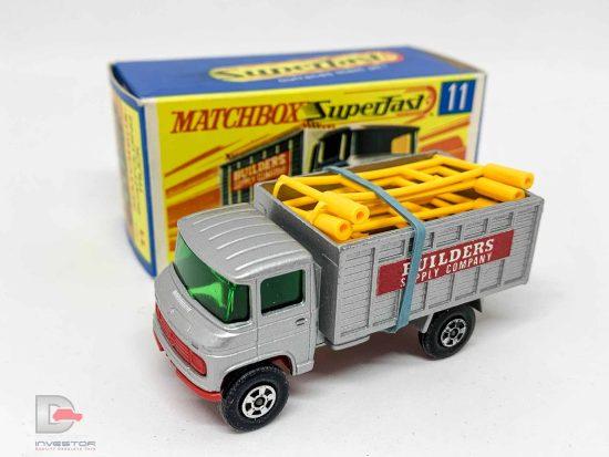 Matchbox Superfast No.11a Mercedes Scaffold Truck