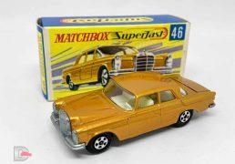 Matchbox Superfast 46a Mercedes 300 SE Coupe