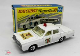 "Matchbox Superfast No.55 Mercury ""Police"" Car"