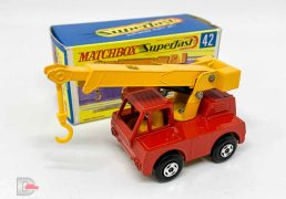 Matchbox Superfast No.42a Iron Fairy Crane