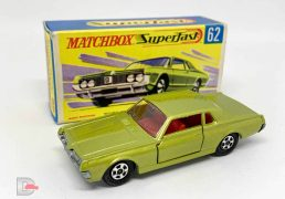 Matchbox Superfast 62a Mercury Cougar