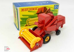 Matchbox Regular Wheels No.65c CLASS Combine Harvester