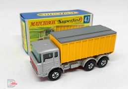 Matchbox Superfast No.47a DAF Tipper Container Truck