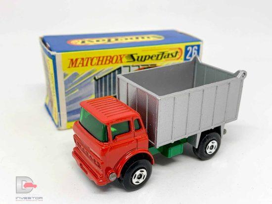 Matchbox Superfast No.26a GMC Tipper Truck