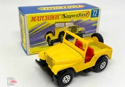 Matchbox Superfast No.72a Standard Jeep
