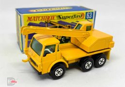 Matchbox Superfast No.63a Dodge Crane Truck