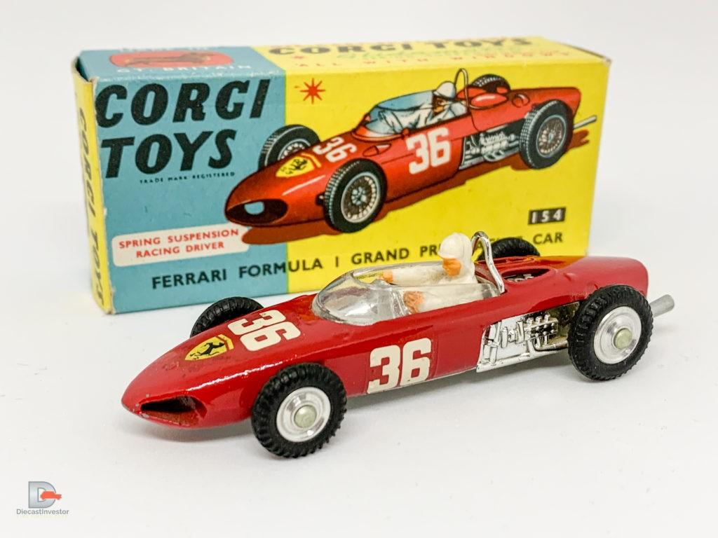 Corgi 154 Ferrari Formula 1 Grand Prix Racing Car