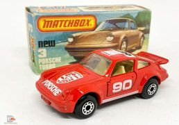 Matchbox Superfast No.3c Porsche 911 Turbo