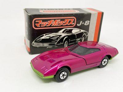 Matchbox Superfast No.52A Dodge Charger Mk.III - purple body, metallic green base - Mint in Near Mint rare Japanese J8 box.